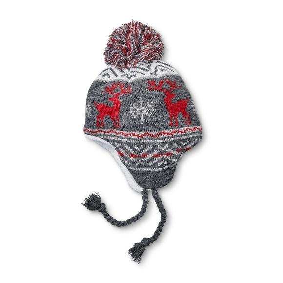 Sherpa Lined Deer Bomber Hat